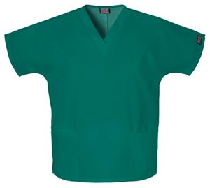 Cherokee Workwear WW Originals Women's V-Neck Top Green