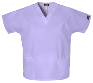 Cherokee Workwear WW Originals Women's V-Neck Top Purple