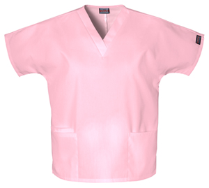 Cherokee Workwear WW Originals Women's V-Neck Top Pink