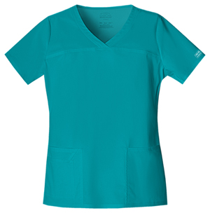 WW Premium Women's V-Neck Top Green