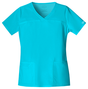 WW Premium Women's V-Neck Top Blue