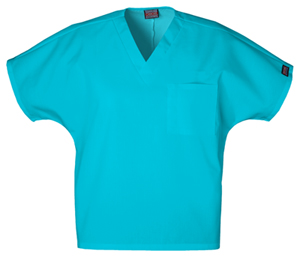 Cherokee Workwear WW Originals Unisex Unisex V-Neck Tunic Blue