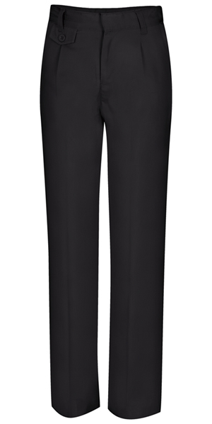 Classroom Uniforms Classroom Girl's Girls Adj. Waist Pleat Front Pant Black
