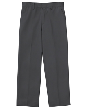 Classroom Uniforms Men's Flat Front Pant 30 Inseam Slate Gray (50364S-SLATE)