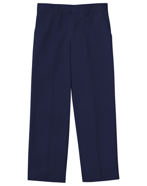 "Classroom Men's Men's Flat Front Pant 32"" Inseam Blue"