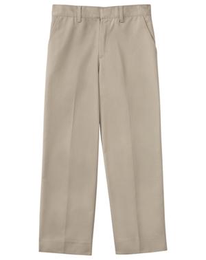 """Classroom Uniforms Classroom Men's Men's Flat Front Pant 32"""" Inseam Khaki"""