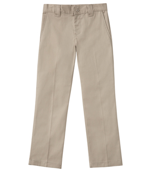 Classroom Uniforms Men's Short Stretch Narrow Leg Pant Khaki (50484S-KAK)