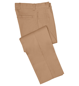 Classroom Uniforms Pleat Front Pant Mens Tall Khaki (50764T-KAK)