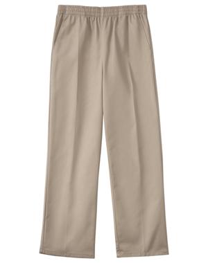 Classroom Uniforms Classroom Child's Unisex Unisex Husky Pull On Pant Khaki