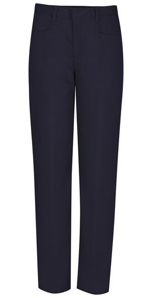 Classroom Uniforms Girls Adj. Waist Low Rise Pant Dark Navy (51072-DNVY)