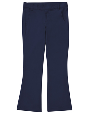 Classroom Uniforms Girl's Stretch Moderate Flare Leg Pant Dark Navy (51322A-DNVY)