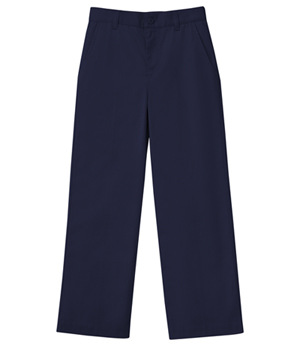 Classroom Uniforms Girls Stetch Flat Front Pant Dark Navy (51942AZ-DNVY)