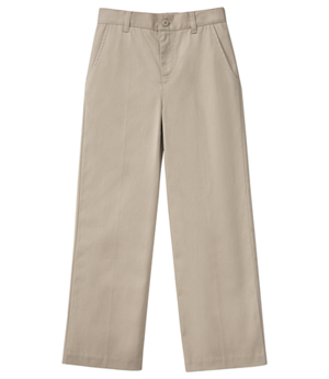 Classroom Uniforms Girls Stretch Flat Front Pant Khaki (51942AZ-KAK)