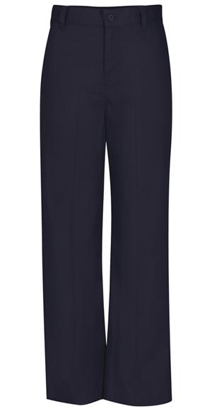 Classroom Girl's Girls Adj. Waist Flat Front Trouser Blue