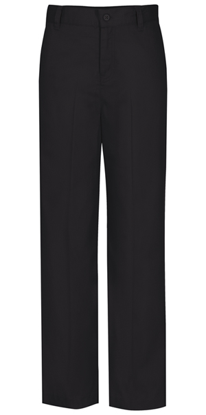 Classroom Girl's Girls Plus Flat Front Trouser Pant Black