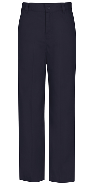 Classroom Girls Plus Flat Front Trouser Pant (51943-DNVY) (51943-DNVY)