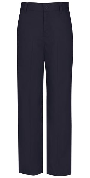 Classroom Junior's Juniors Flat Front Trouser Pant Blue
