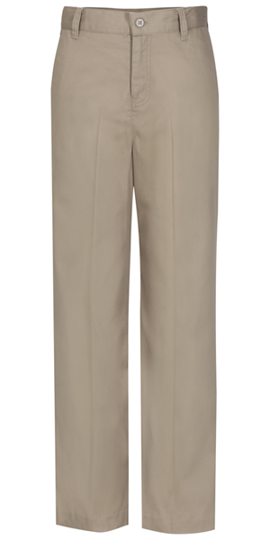 Classroom Missy's Missy Flat Front Trouser Pant Khaki
