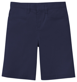 Classroom Uniforms Girls Stretch Low Rise Short Dark Navy (52071AZ-DNVY)
