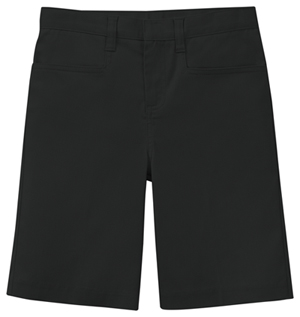 Classroom Uniforms Girls Stretch Low Rise Short Black (52072AZ-BLK)