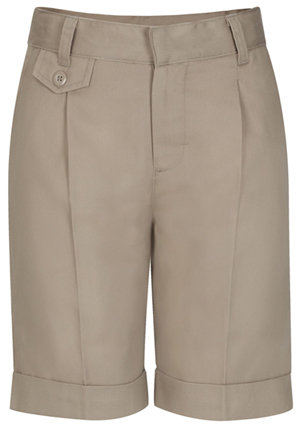 Classroom Uniforms Classroom Junior's Juniors Pleat Front Short Khaki