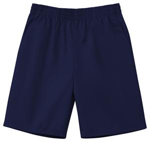 Classroom Child's Unisex Unisex Husky Pull-On Short Blue