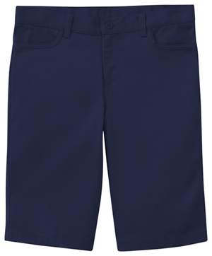 Classroom Uniforms Juniors Stretch Matchstick Short Dark Navy (52224-DNVY)