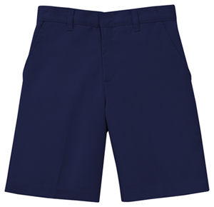 Classroom Uniforms Men's Flat Front Short Dark Navy (52364-DNVY)