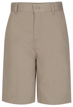 Classroom Uniforms Classroom Girl's Girls Flat Front Bermuda Short Khaki