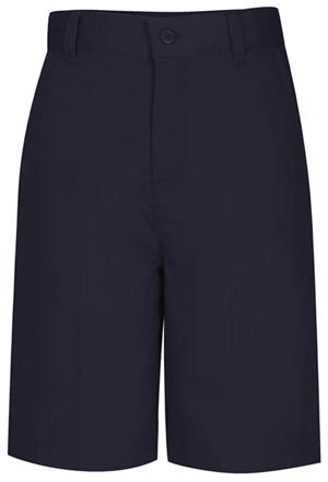 Classroom Uniforms Classroom Girl's Girls Adj. Waist Flat Front Bermuda Blue