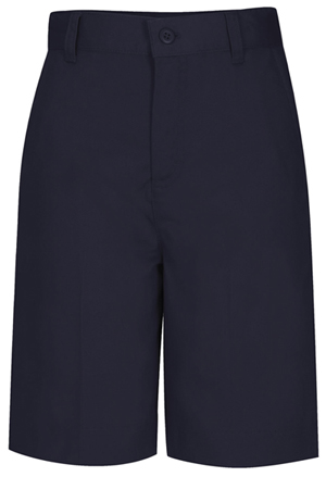 Classroom Uniforms Classroom Girl's Girls Plus Flat Front Bermuda Short Blue