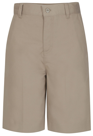 Classroom Uniforms Classroom Girl's Girls Plus Flat Front Bermuda Short Khaki