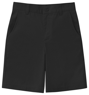 Classroom Uniforms Junior Stretch Flat Front Short Black (52944Z-BLK)