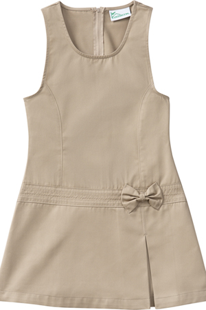 Classroom Uniforms Girls Zig-Zag Jumper Khaki (54222-KAK)