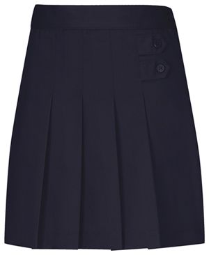 Classroom Girls Plus Pleated Tab Scooter (55123-DNVY) (55123-DNVY)