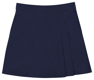 Classroom Girls Stretch Double-Pleated Scooter (55271A-DNVY) (55271A-DNVY)
