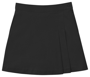 Classroom Girls Stretch Double-Pleated Scooter (55273A-BLK) (55273A-BLK)