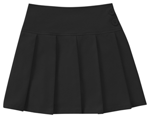 Classroom Girls All Over Pleated Scooter (55421A-BLK) (55421A-BLK)