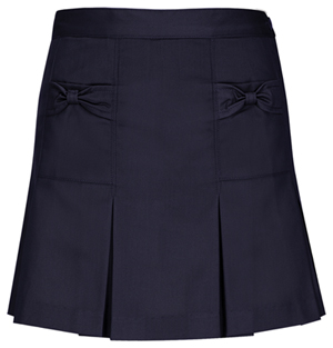Classroom Uniforms Girls Bow Pocket Scooter Dark Navy (55981-DNVY)