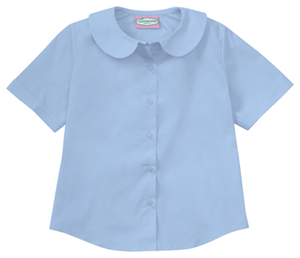 Classroom Junior SS Peter Pan Blouse (57554-BLUU) (57554-BLUU)