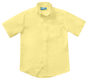 Classroom Boys Short Sleeve Oxford (57661-YEL) (57661-YEL)