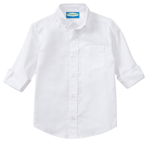 Classroom Boys Long Sleeve Oxford (57671-WHT) (57671-WHT)