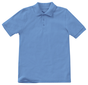 Classroom Youth Unisex Short Sleeve Pique Polo (58322-CMBL) (58322-CMBL)