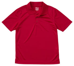 Classroom Uniforms Classroom Unisex Adult Unisex Moisture-Wicking Polo Shirt Red