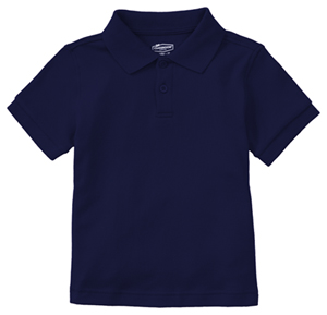 Classroom Uniforms Classroom Preschool Preschool Unisex SS Interlock Polo Blue