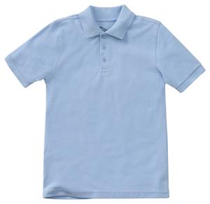 fab37931 Classroom Uniforms Preschool Unisex SS Pique Polo SS Light Blue 58990-SSLB