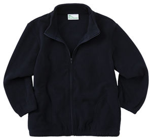 Classroom Uniforms Toddler Zip Front Jacket Dark Navy (59200R-DNVY)
