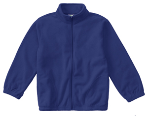 Classroom Uniforms Adult Unisex Polar Fleece Jacket Royal (59204-ROY)