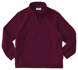 Classroom Uniforms Youth Unisex Polar Fleece Pullover Burgundy (59302-BUR)