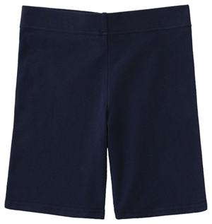 Classroom Uniforms Juniors Bike Shorts Dark Navy (59404-DNVY)